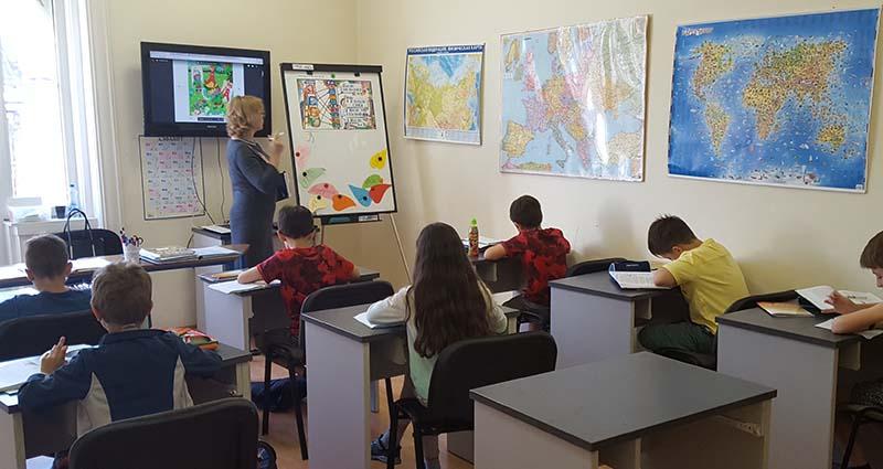 Школа «Алфавит» Галиакберова Эльвира