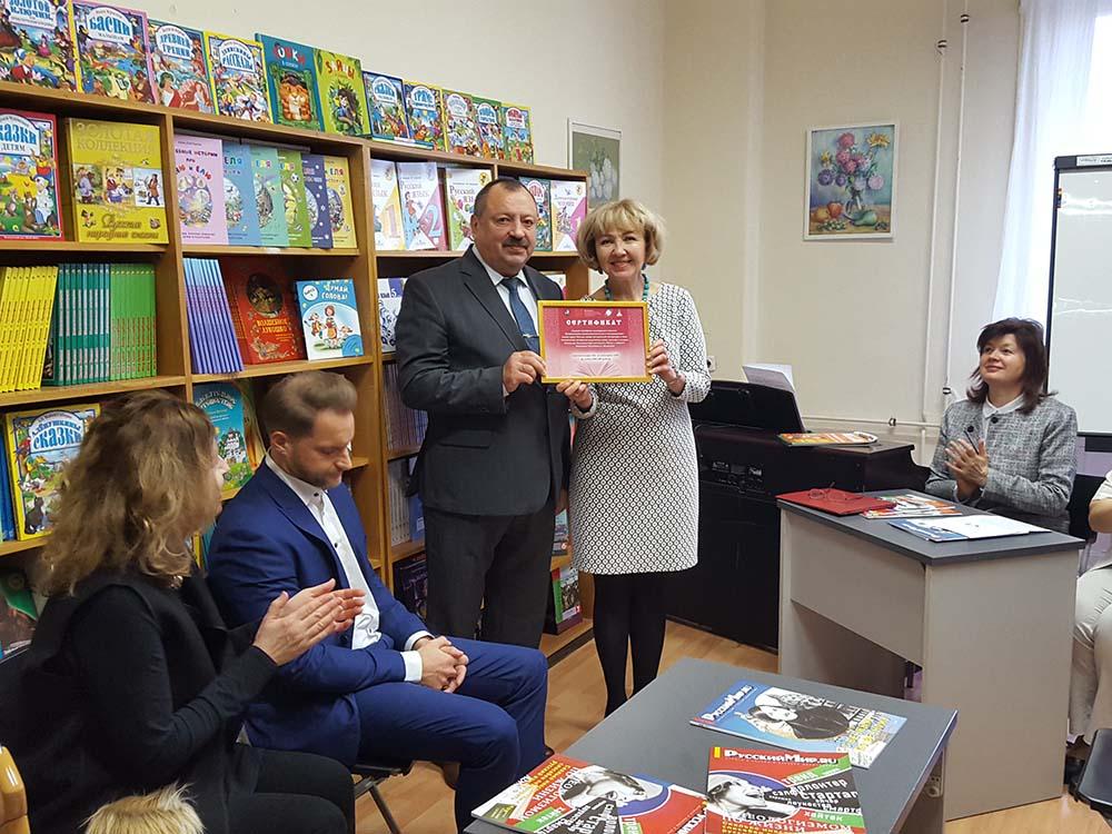 Первый советник Посольства РФ в Венгрии Валерий Никулин