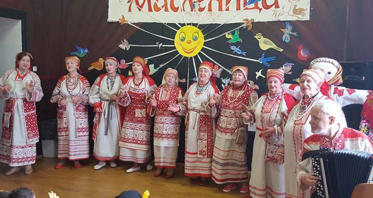 Русская Масленица в школе «Алфавит»