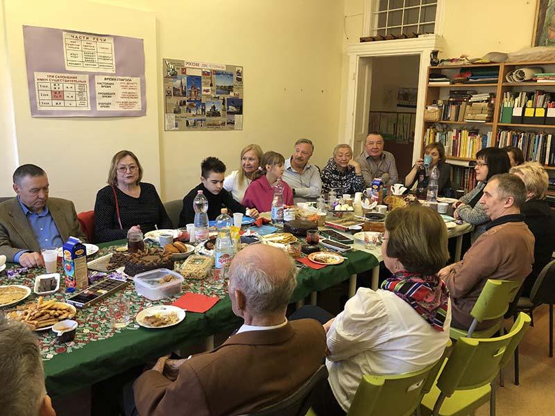 Tatár Társaság összejövetele