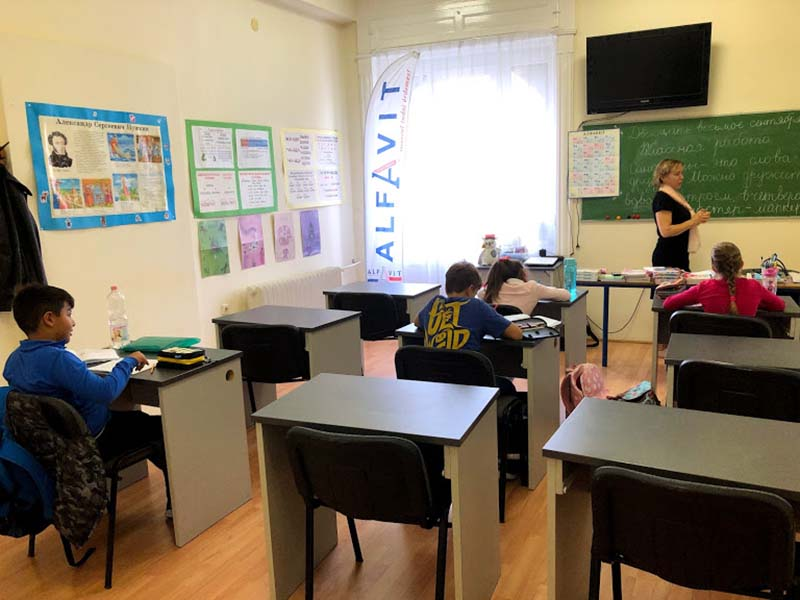 День открытых дверей в школе «Алфавит»